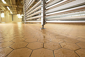 industrial flooring for food and beverage